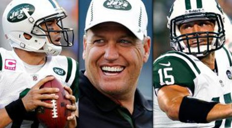 Who wont be with the Jets next year Rex Ryan, Mark Sanchez, or Tim Tebow?